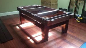 Correctly performing pool table installations, Buffalo New York